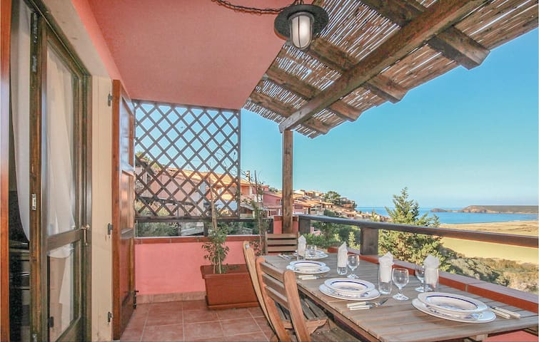 Holiday apartment with 2 bedrooms on 90m² in Torre dei Corsari CA
