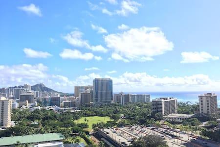 Penthouse Studio with Ocean and Diamond Head Views - 호놀룰루(Honolulu)