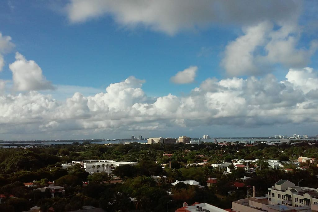 Balcony view - city