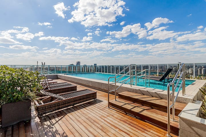 Loft moderno com vista - Berrini