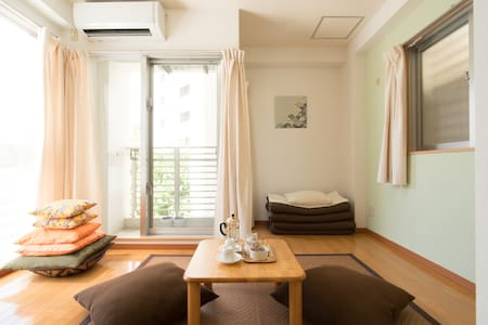 Kokusai Dori: a quiet studio 30 seconds away - Naha-shi - Appartement