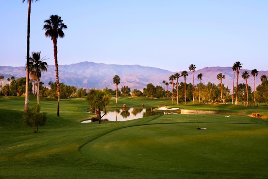 Golf Course  Property of Welk Resort