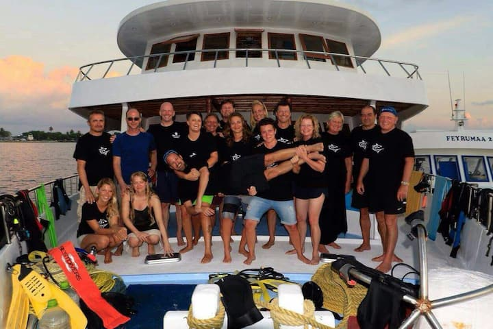 Cruise safari diving, fishing & snorkeling