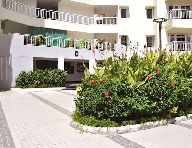 Private Room 1 w/ Balcony at Luxury Condo.