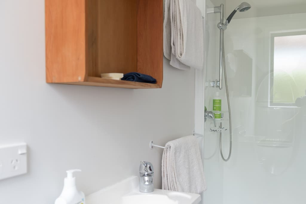 Bath & Hand Towels included with your room