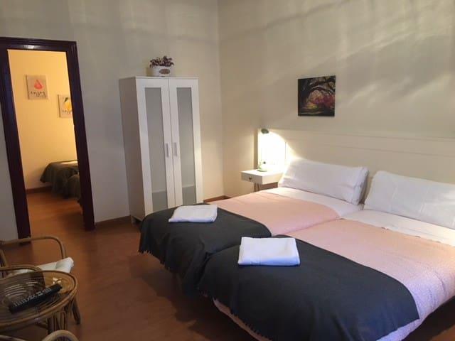 Habitación 4 personas Ribadesella Hotel Covadonga