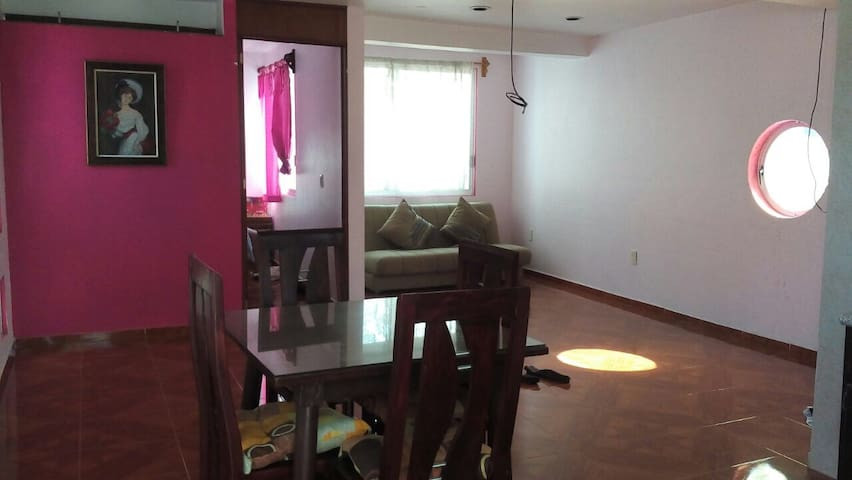 Nice apartment 5 min from airport Mexico City.