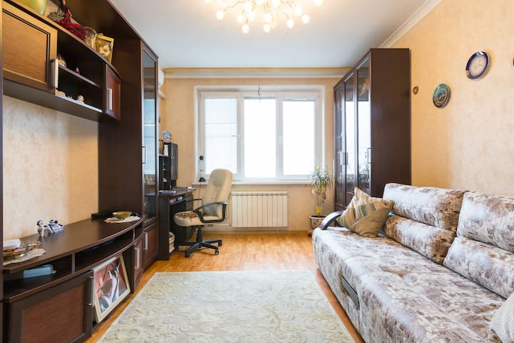 The flat nearly Park Station Kuzminki - Москва - อพาร์ทเมนท์