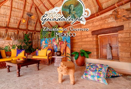 Seafront Luxury mexican style Villa - Zihuatanejo