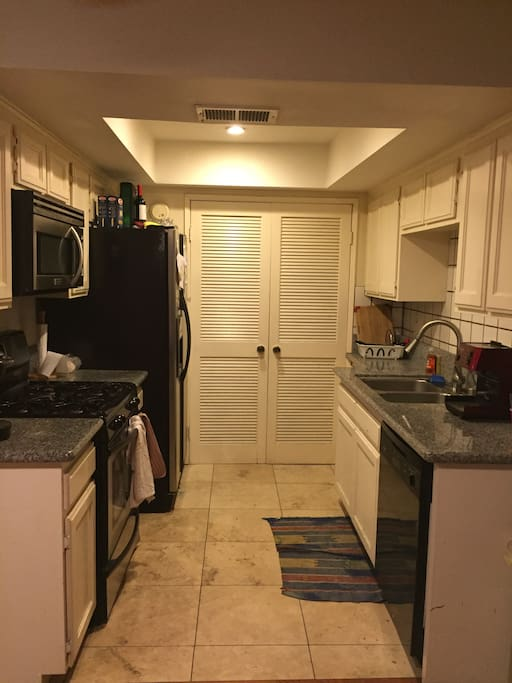 Dish washer, refrigerator, stove, washer, and dryer