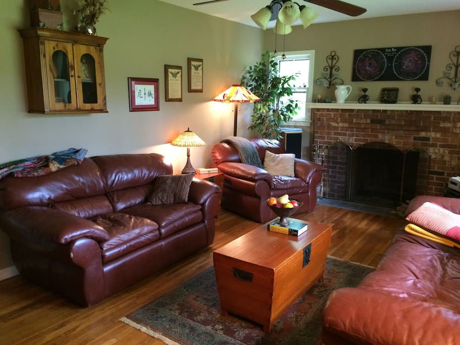 Living room - great for reading or socializing!