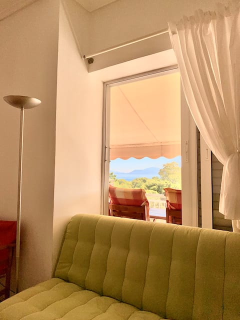 Sunny apartment with beautiful view