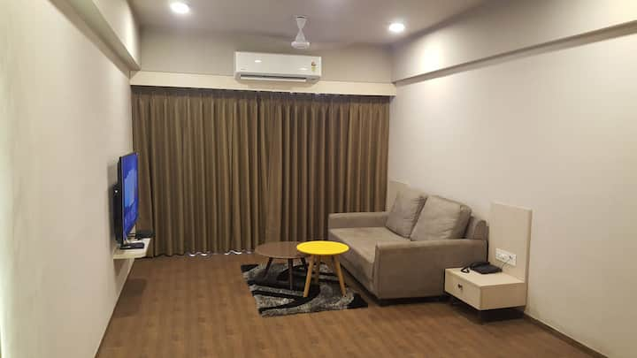 1 bhk studio appartment with excellent view