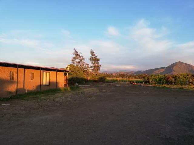 Campo, tranquilidad, silencio. Lonquen Isla Maipo