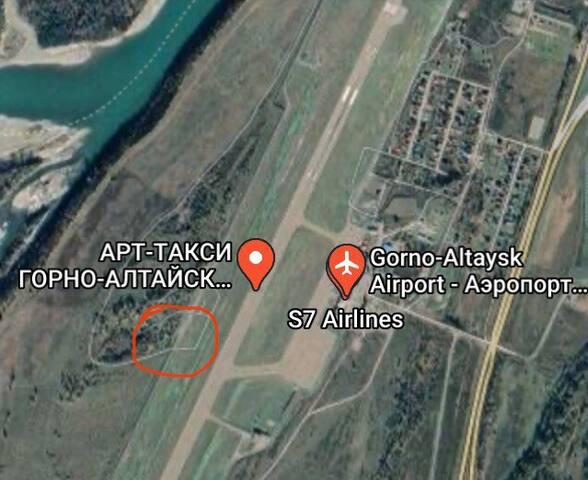 ЭКО-дом у реки Катунь. Аэропорт Горно-Алтайск.