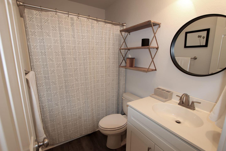 Bathroom w/Full Tub Shower Combo