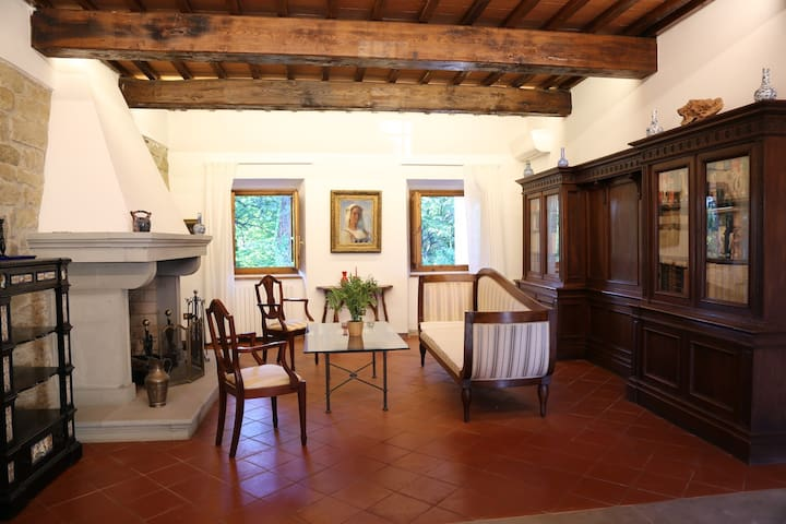 Luxury villa in the Florentine countryside