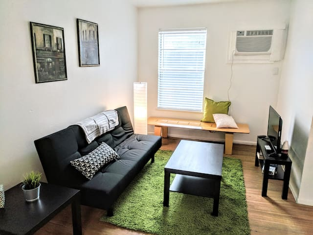 Thrifty + functional 2 bdrm near AUS and downtown