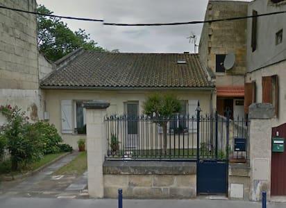 Maison avec piscine en centre ville - Libourne