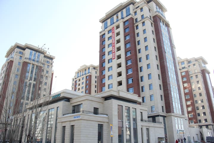 Уютная 2-х комнатная квартира в Центре города - Astana - Apartemen