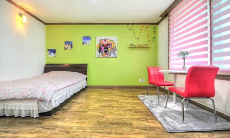 속초해수욕장 앞 탁트인 침대방(2층피앙세) - Saemaeul-gil, Sokcho-si - Lägenhet