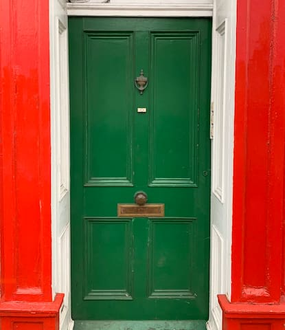 The Green Door in Blandford Town Centre