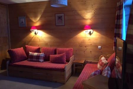 Grand studio cosy, skis aux pieds, MERIBEL CENTRE - Les Allues