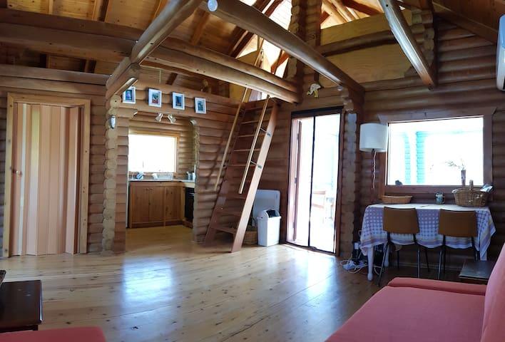 Inside of main cabin.