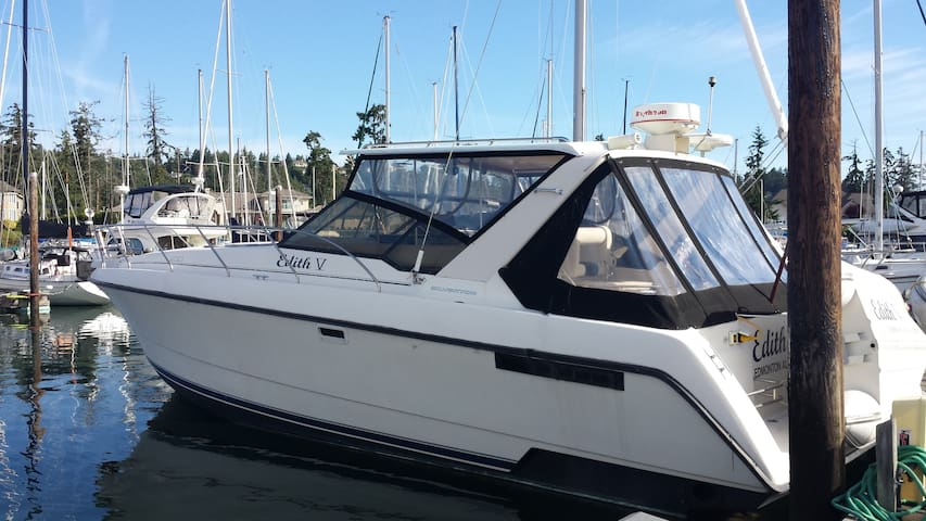 Your Private Floating Boat/Hotel Camping Experiene - North Saanich