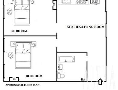 2 Bedroom Apt Perfect For Groups - Nova Iorque