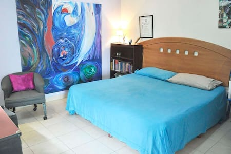 King size bedroom at the beach. - La Paz - Haus