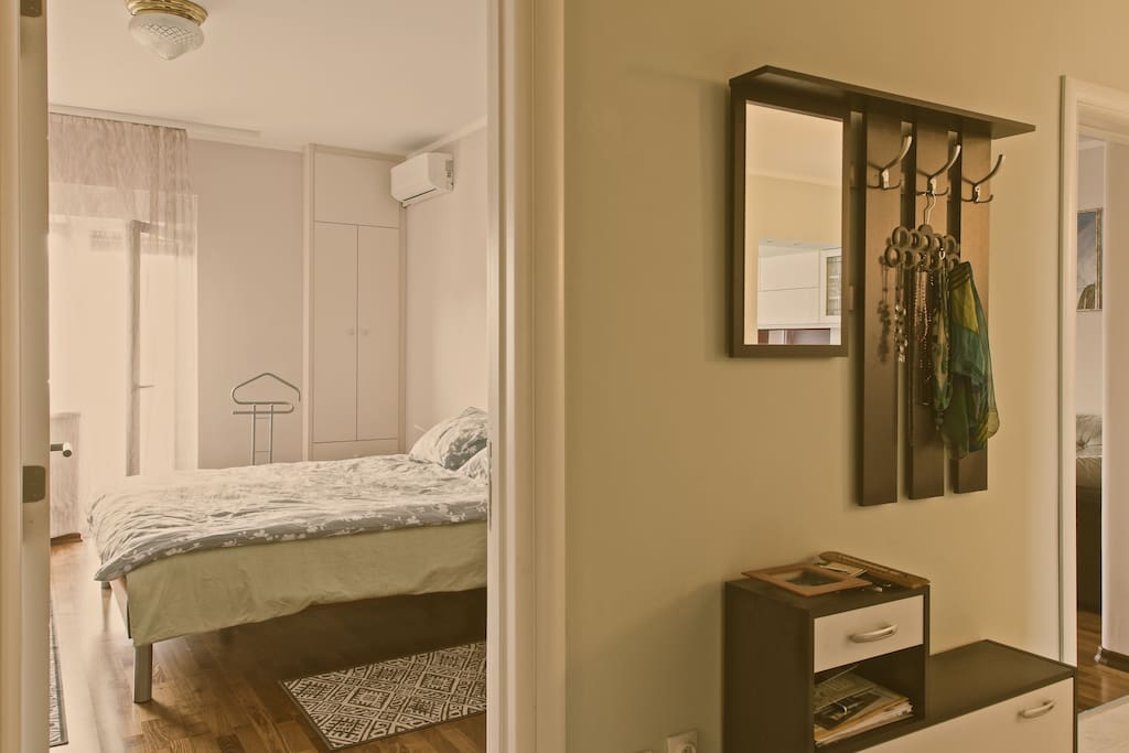 The first view is of the bedroom, so let's start there...