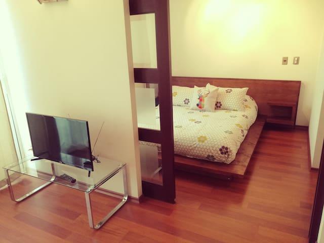 D- Cozy Bright Apartment Andes View - Santiago - Apartment