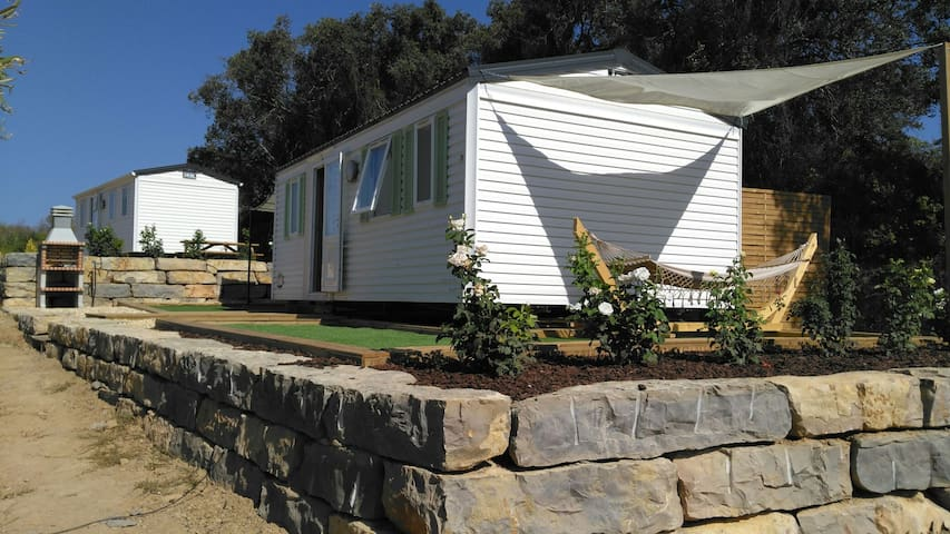 Mobile Home with full equipment, in a private area