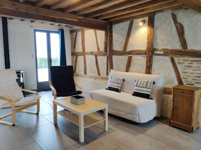 Gîte campagne,clim,wifi, 10 mn de Bourg en Bresse