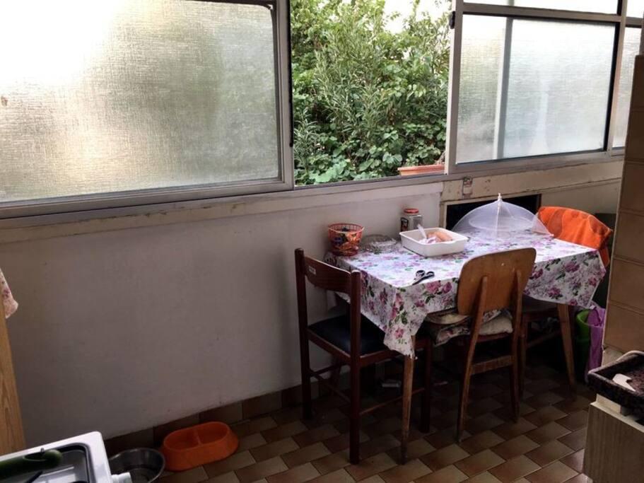 kitchen dining corner...:-)
