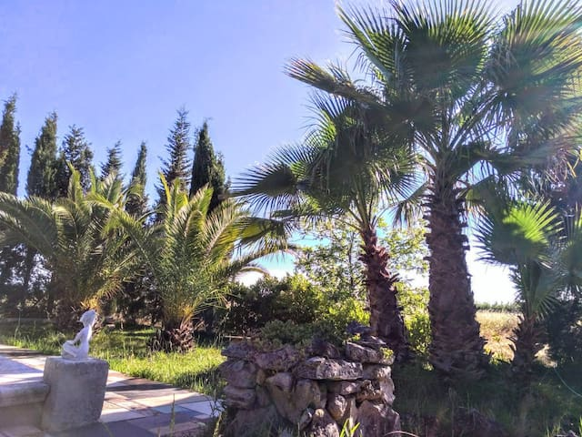 Villa Rustica con giardino botanico