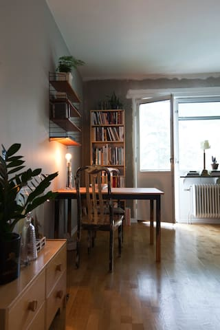 Charming room 17 minutes to city center - Stockholm - Appartement