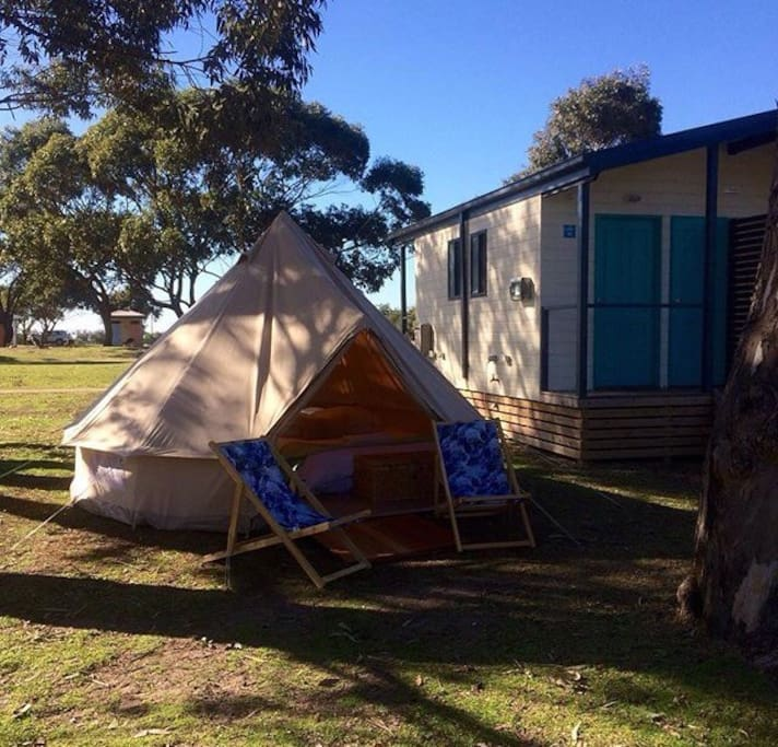 Ensuite sites at Pambula Beach Discovery Park