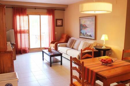 Excelente apartamento en el mar - Flat