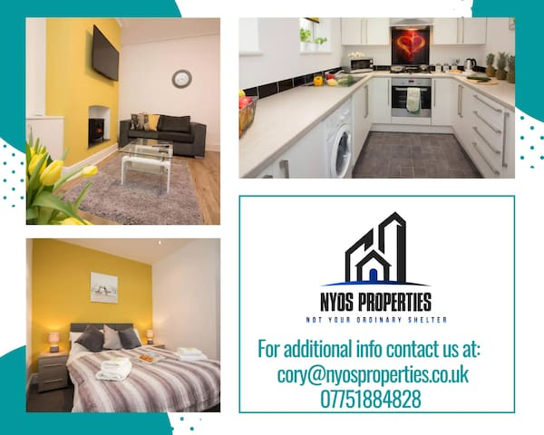 Lovely Family 3 Bed Home Manchester