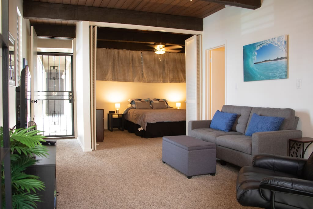 Restful and relaxing, Studio Sakai is the perfect home during your Big Island stay!
