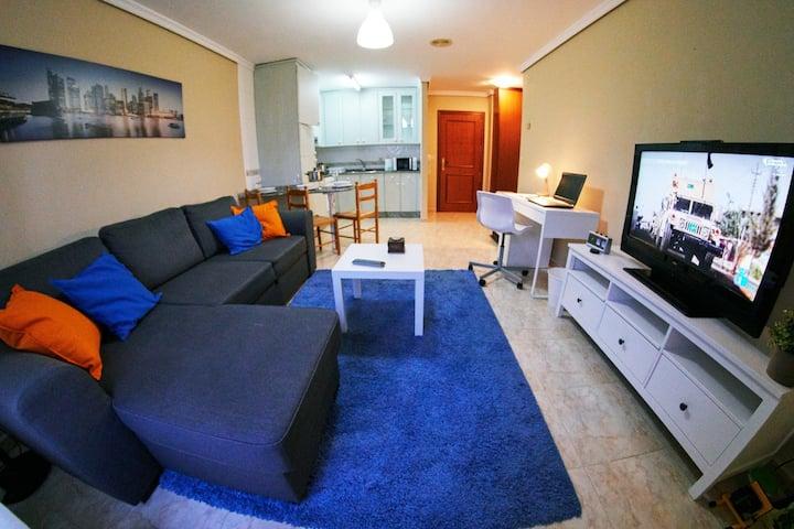 Apartamento en Galicia ideal para parejas/familias