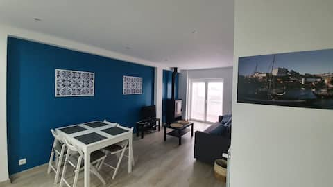 Flat 3Z - Center of Esposende with city view