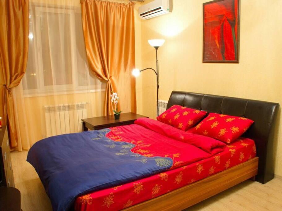 Полноценное место для сна: 2х-спальная кровать 160*200