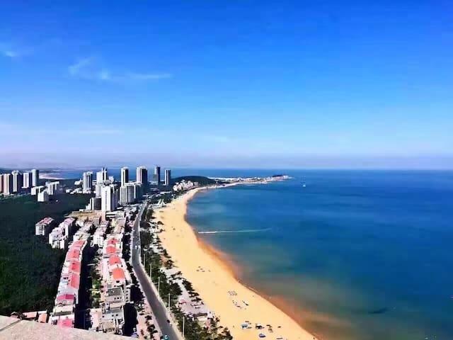 面朝大海 背靠山大 俯瞰国际海水浴场高层海景房 - 威海 - Wohnung