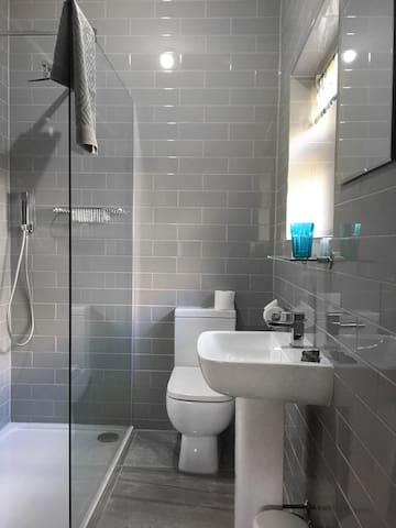 Ensuite walk in shower room