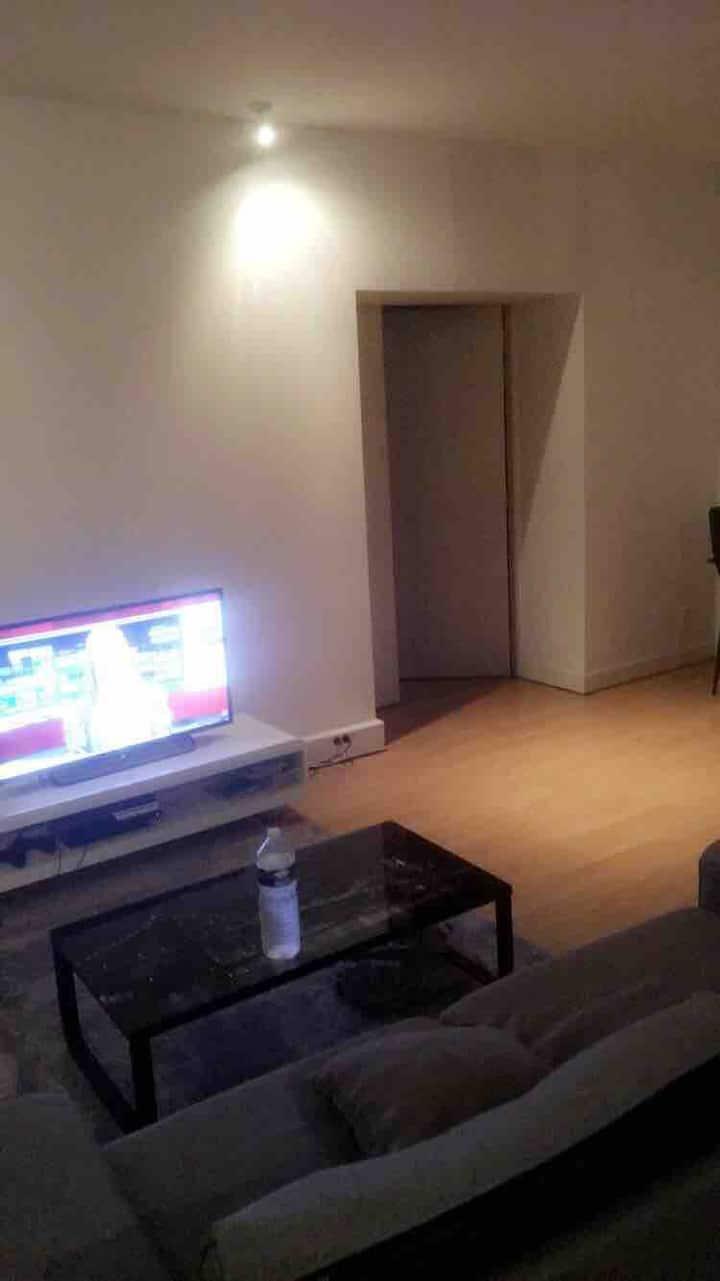 Appartement spacieux séjour lumineux