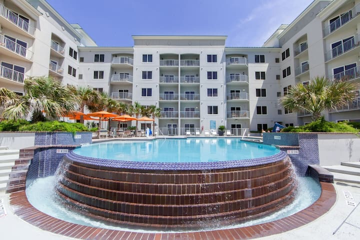 18-Hole Mini Golf + Sparkling Outdoor Pool | Short Walk to the Beach