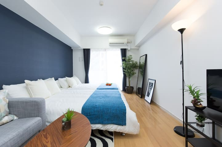 4min STA nr Asakusa&Ueno areas Easy access TV+WiFi - Taitō-ku - Huoneisto